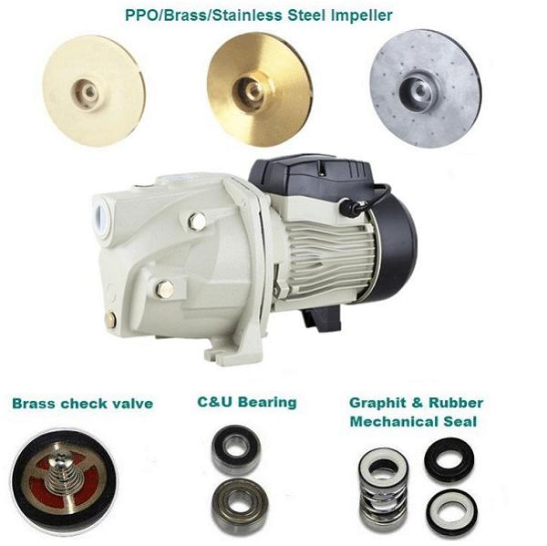 self-priming pump JET pump